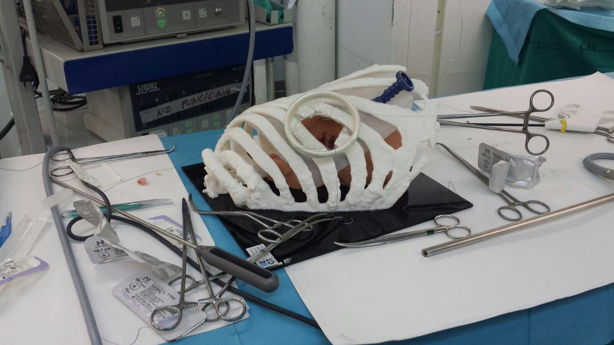 modelo toracoscopia