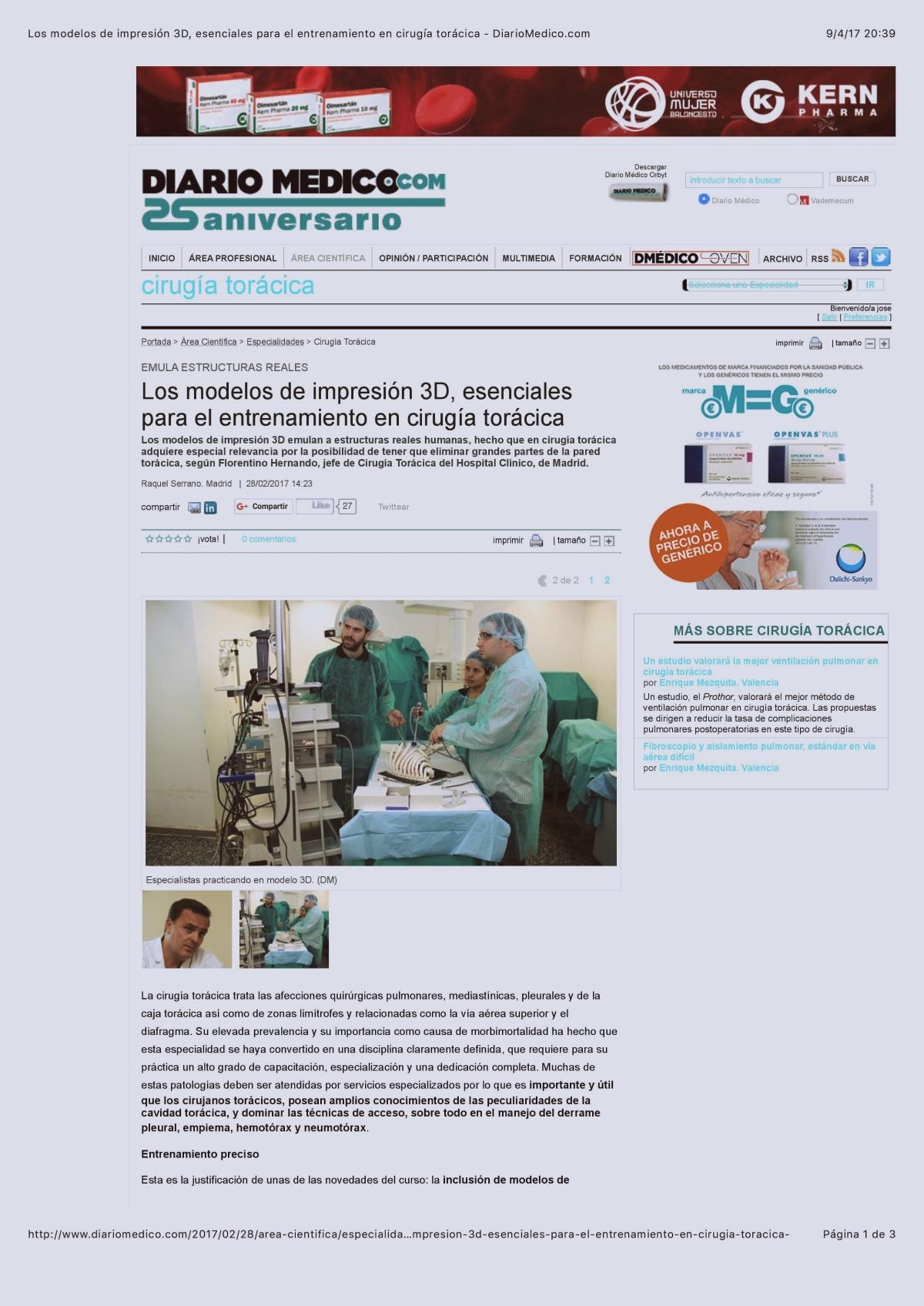 en El DiarioMédico